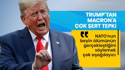 Son dakika: Trump'tan Macron'a